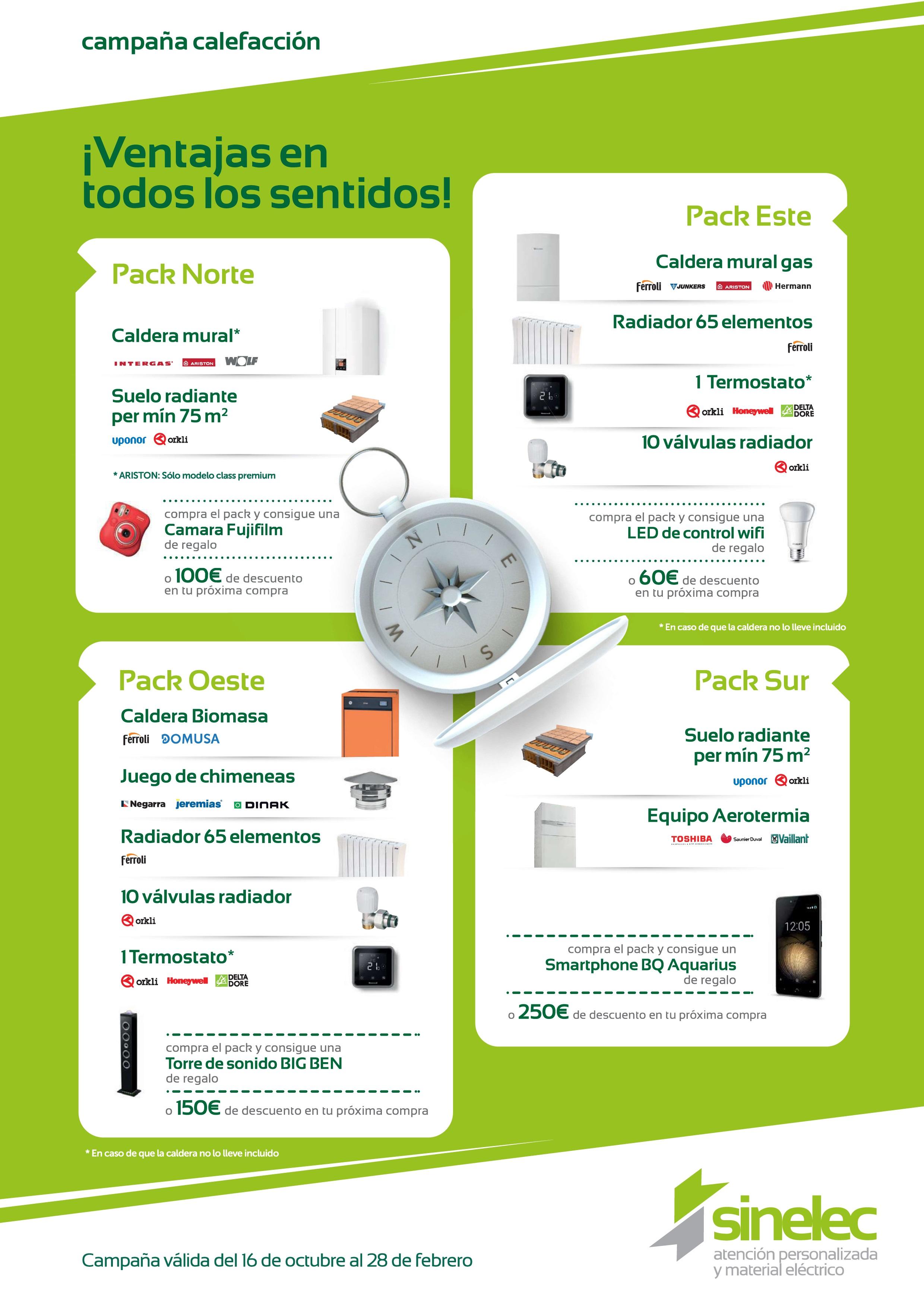 Promoción Calefacción: ventajas en todos los sentidos