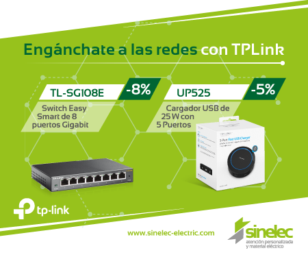 Enganchate a las redes con TPLink