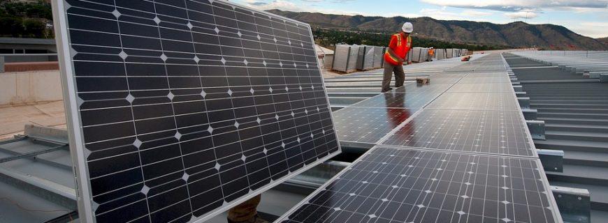 Placas fotovoltaicas para la empresa